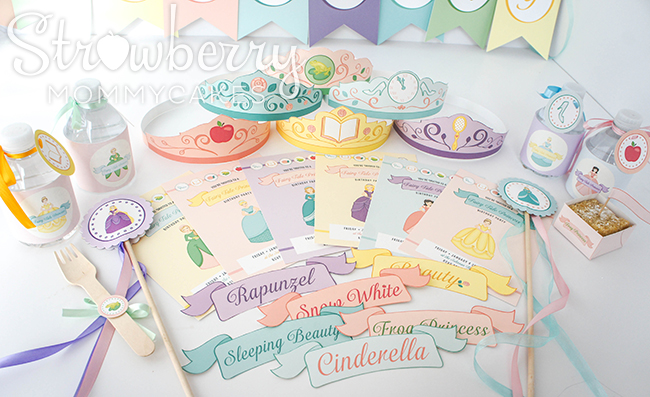 photograph about Princess Party Printable titled princess occasion template -
