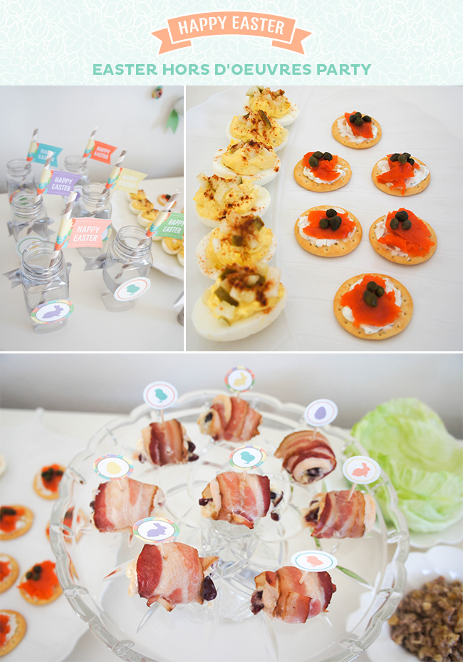 Easter Hors D'oeuvres Party