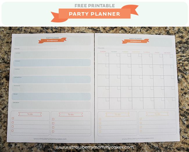 Free Party Planner Template Free Event Planning Tracker Template