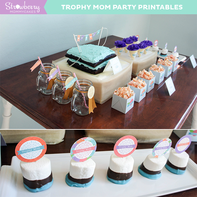 Trophy Mom Mother's Day Party