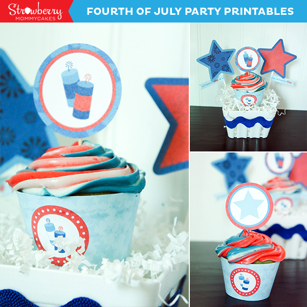 Last Minute Fourth of July Gift Idea on www.strawberrymommycakes.com