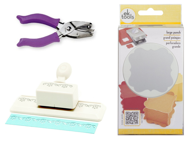 Must Have Party Tools: Hole Punchers on www.strawberrymommycakes.com