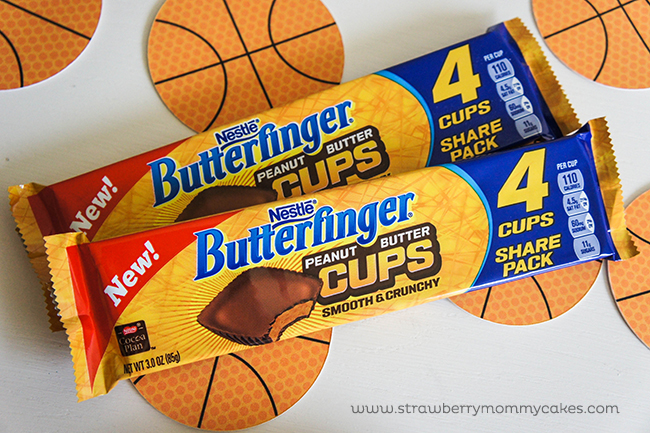 Game On! Butterfinger Cups Chocolate Yummy on www.strawberrymommycakes.com #basketballgames #New Favorites #CollectiveBias #chocolaterecipe #butterfingercups