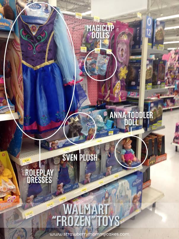 """Frozen"" toys at Walmart on www.strawberrymommycakes.com #frozen #walmart #FROZENFun #collectivebias"