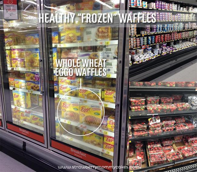 "Healthy ""Frozen"" Waffles at Walmart on www.strawberrymommycakes.com #frozen #walmart #FROZENFun #collectivebias"