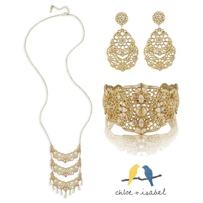 Chloe + Isabel Jewelry on www.strawberrymommycakes.com