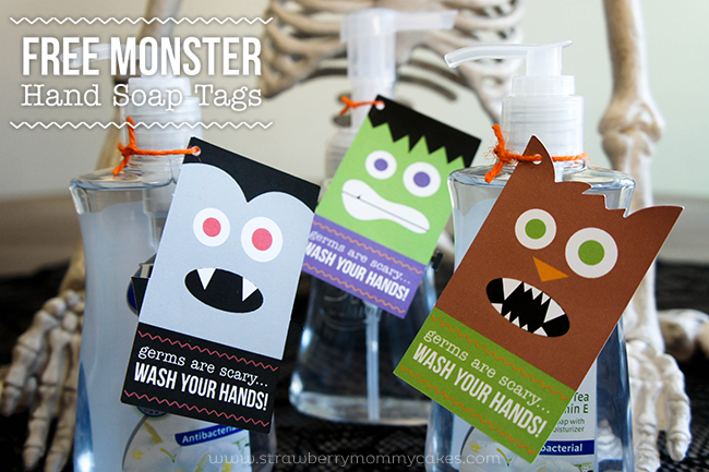 FREE Monster Hand Soap Tags and Back to School Savings  #APlusValues #CollectiveBias #shop