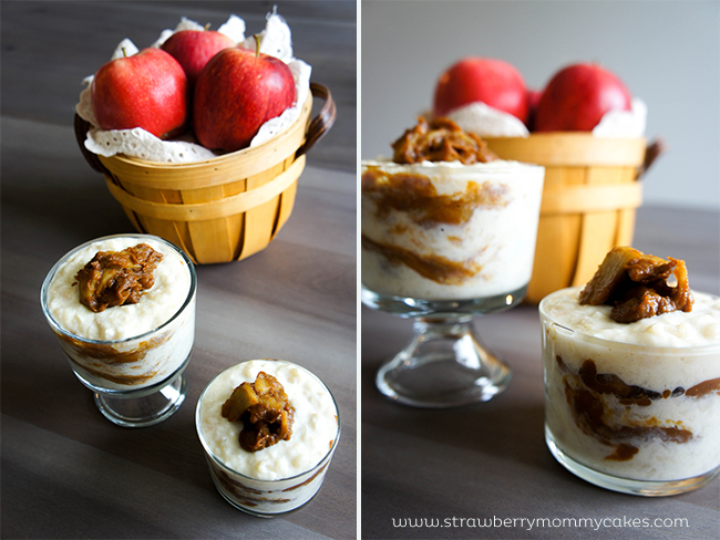 Pumpkin Apple Cracker Pudding on www.strawberrymommycakes.com #pumpkin #fallflavors #cinnamonapple #crackerpudding