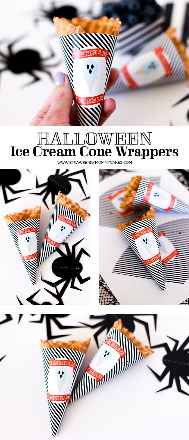 i scream halloween ice cream cone wrappers printable crush. Black Bedroom Furniture Sets. Home Design Ideas