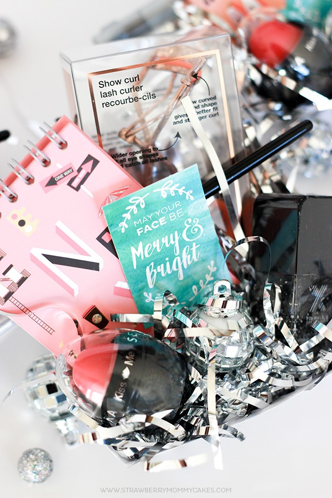 Create a LOVELY Makeup Gift Basket for Christmas {$100 GIVEAWAY ...