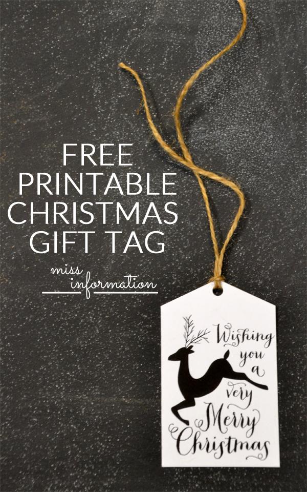 25 Cute and FREE Christmas Printables! - Printable Crush