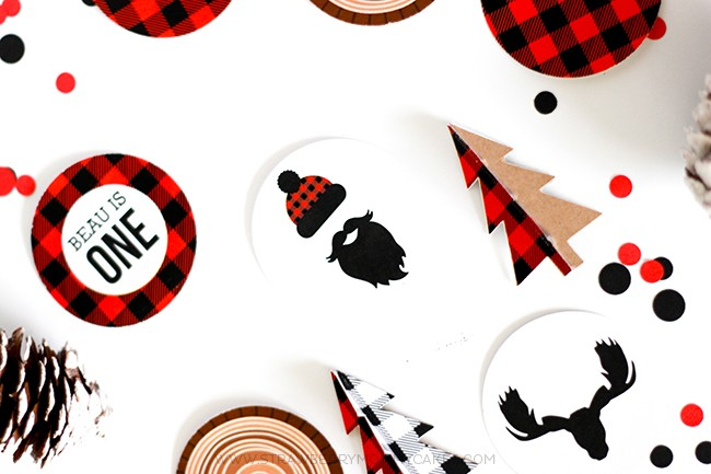 Download These FREE Lumberjack Party Printables