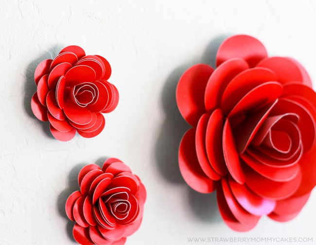 How to make simple paper flowers image collections flower fantastic make simple paper flowers festooning best evening gown how to make easy paper flowers for mightylinksfo