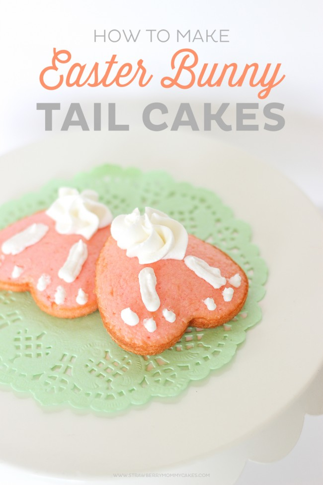 How To Make Easy Easter Bunny Tail Cakes Printable Crush