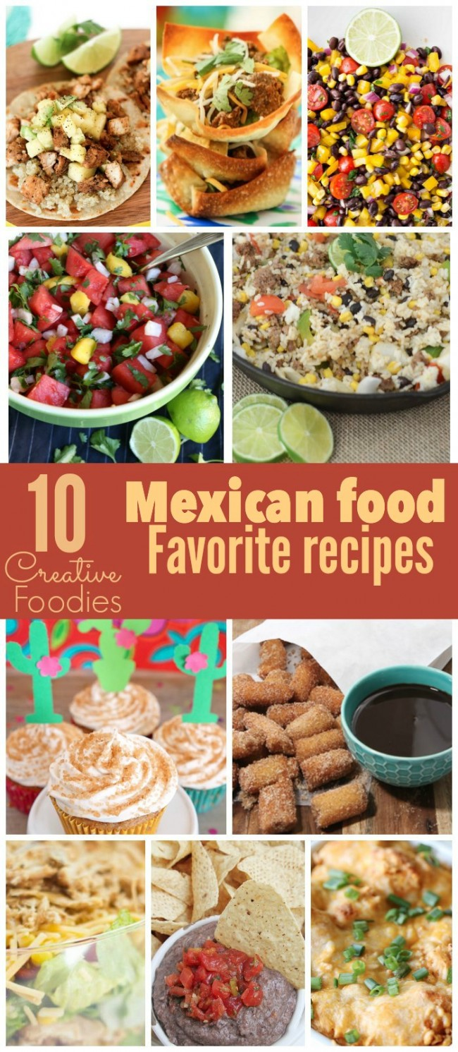 If you need some other Cinco de Mayo recipes, check out these 9 other ideas from some of my favorite Creative Foodies!