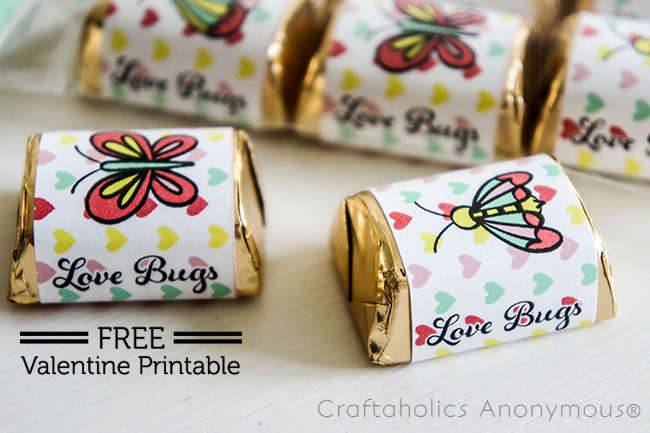 Love Bug Printables on www.strawberrymommycakes.com #valentineprintables