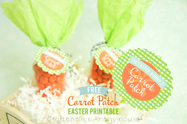 FREE Carrot Patch Printables on www.strawberrymommycakes.com #freeprintables #easterprintables