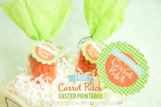 FREE Carrot Patch Printables on www.strawberrymommycakes.com #freeprintables #easterprintables