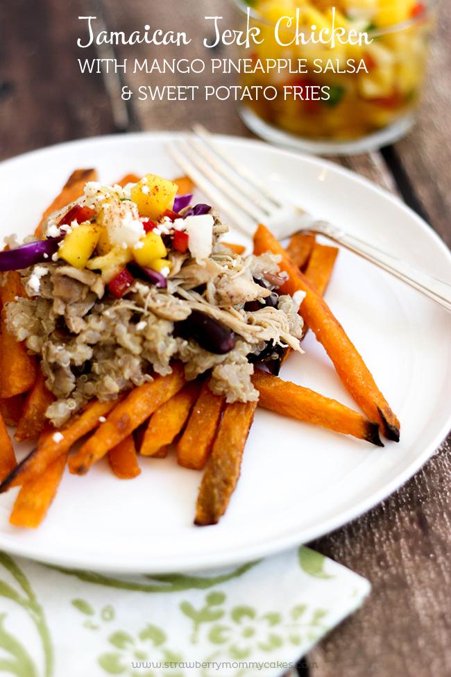 http://strawberrymommycakes.com/wp-content/uploads/2015/03/Jamaican-Jerk-Chicken-with-Mango-Pineapple-Salsa-and-Sweet-Potato-Fries-5.jpg