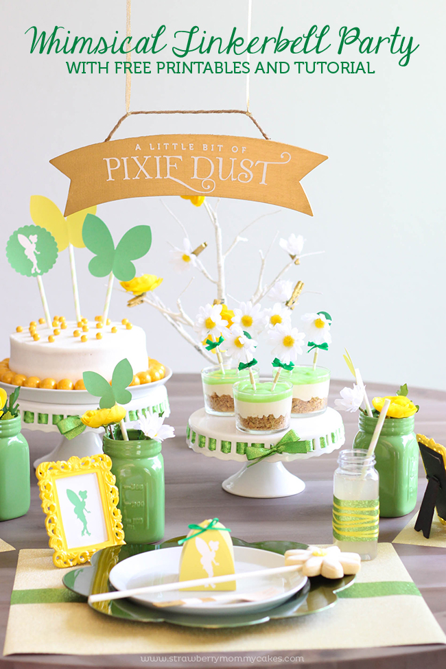http://strawberrymommycakes.com/wp-content/uploads/2015/03/Whimsical-Tinkerbell-Party-1-61.jpg