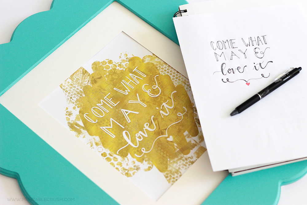 5 Tips to Make AMAZING Hand Lettering Art