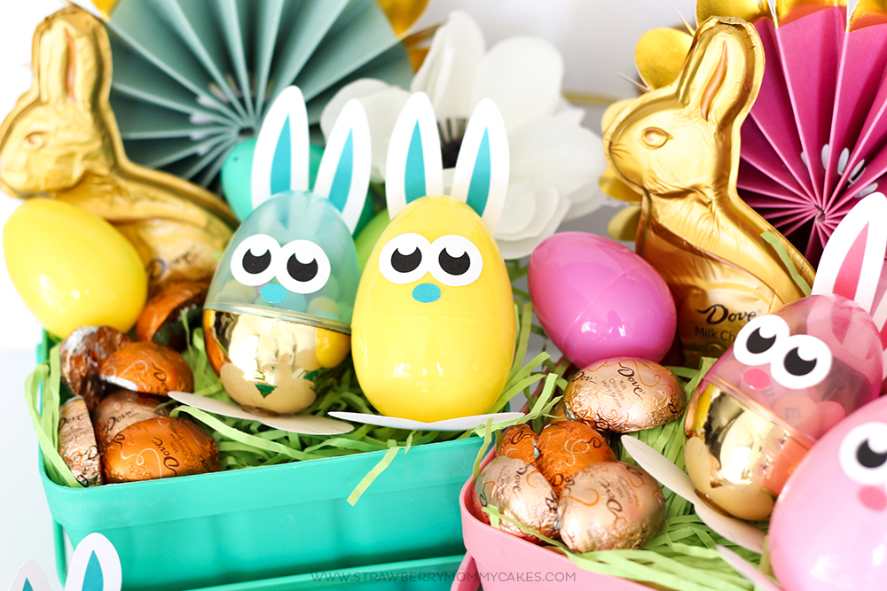 Adorable and FREE Easter Bunny Egg Printables