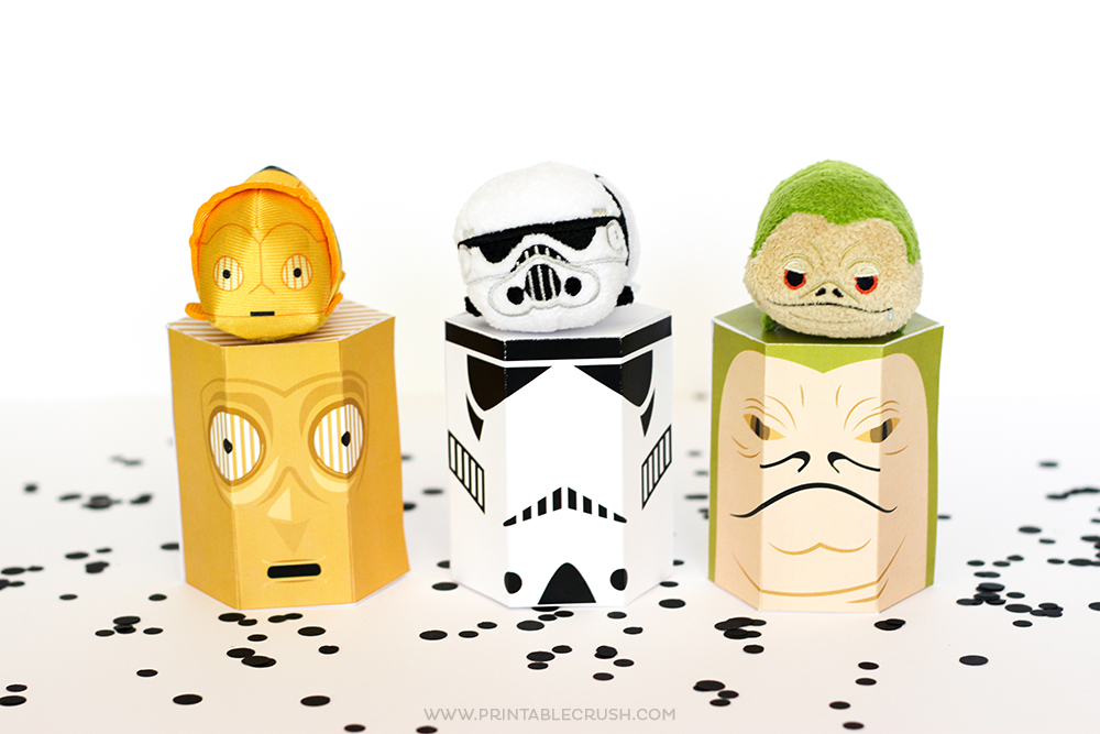 FREE Star Wars Printable Gift Boxes