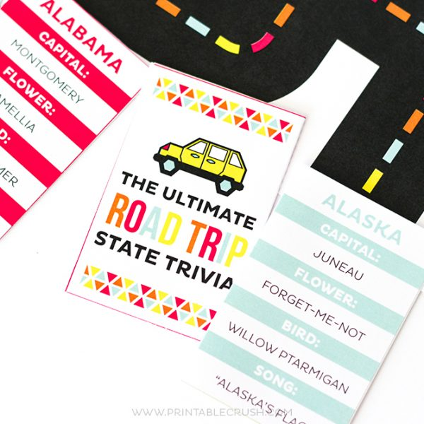 Ultimate Road Trip Printable Set