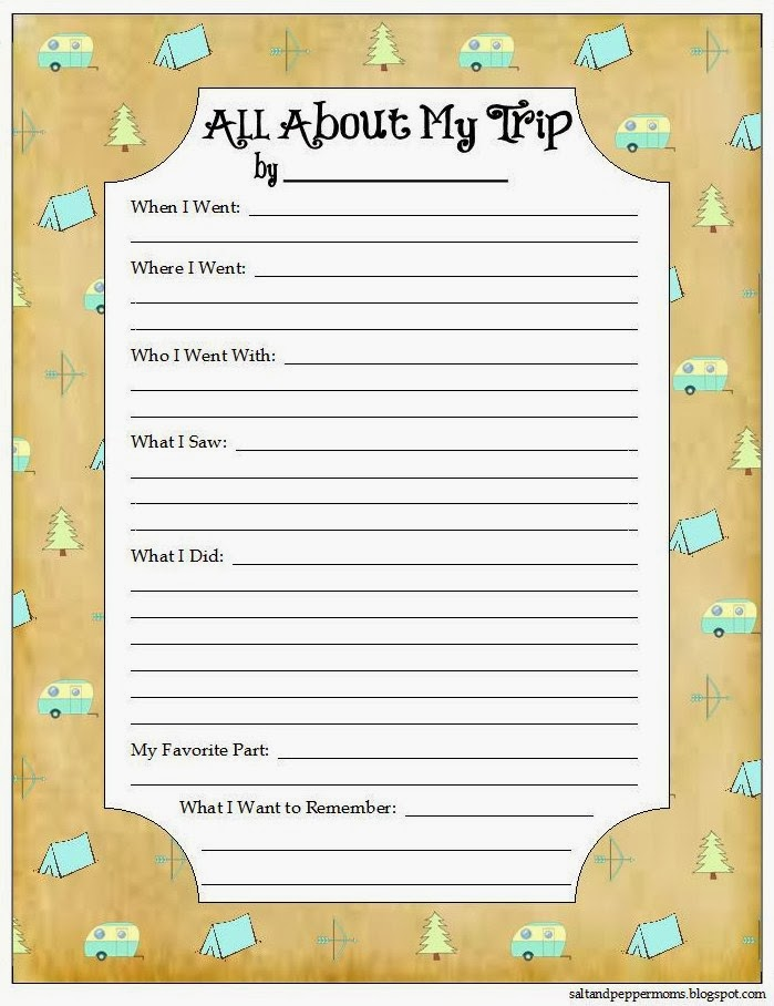 26 Road Trip Printables For Kids