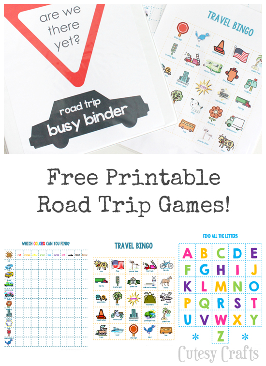 License Plate Crafts For Kids