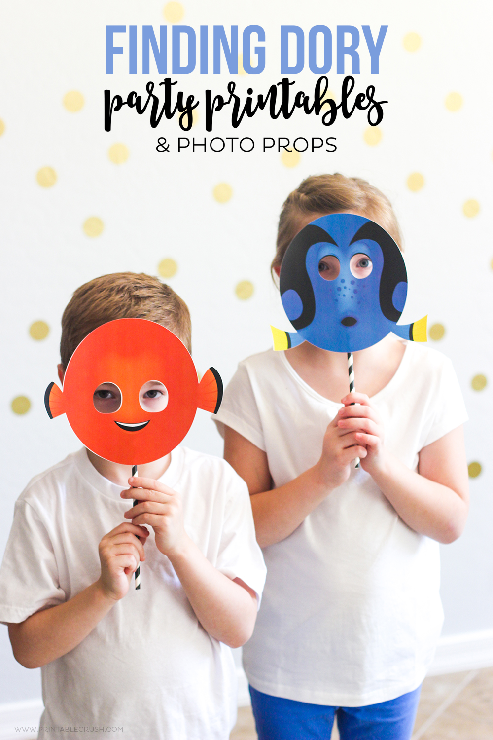 FREE Finding Dory Party Printables Printable Crush