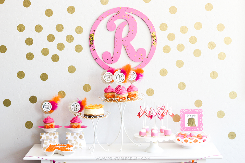 Elegant Girl Birthday Party Ideas