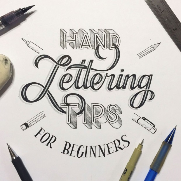 21 More Hand Lettering and Brush Lettering Tutorials Round Up on PrintableCrush.com