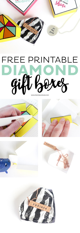 FREE Printable Diamond Gift Boxes-1 copy