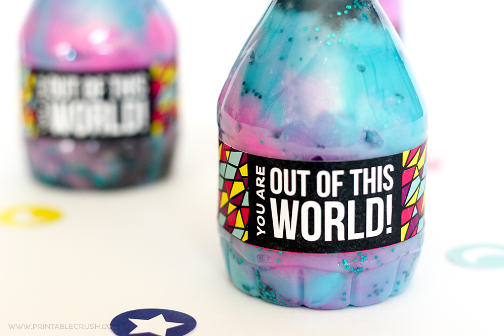 Mini Galaxy Jar Printable Gift Idea
