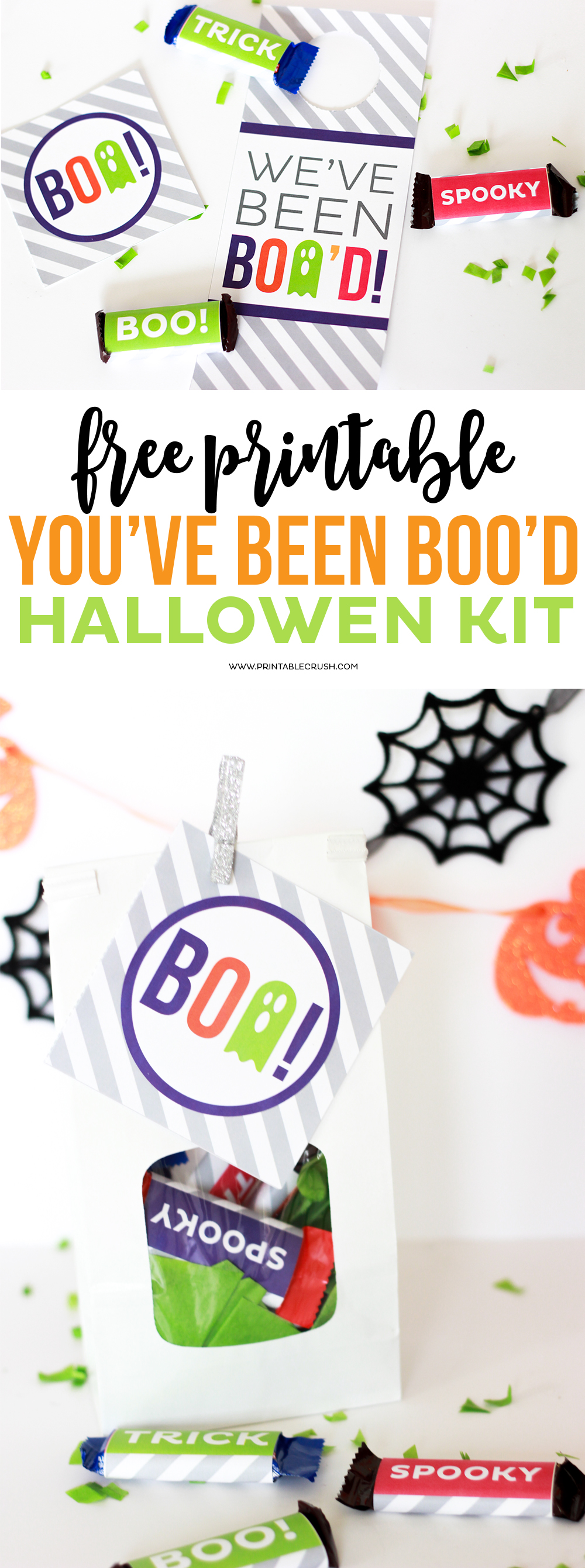 Surprise your neighbors or friends this Halloween with the FREE Printable You've Been Boo'd Halloween Kit! It includes so many fun printables!