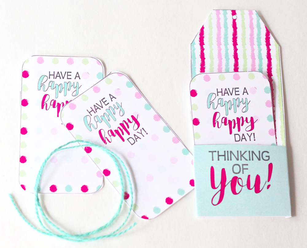 FREE Printable Thinking of You Gift Tags