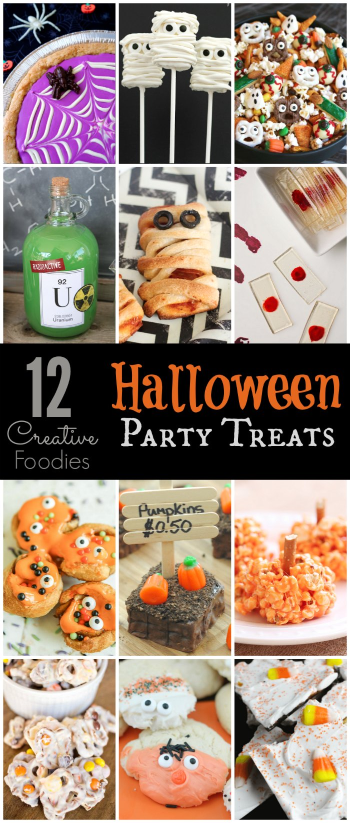 Try these 12 Halloween Party treats for your next spooky get-together!