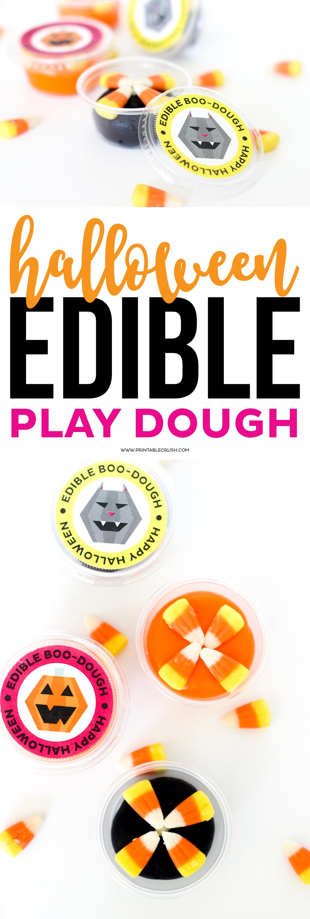 free edible play dough halloween printables printable crush