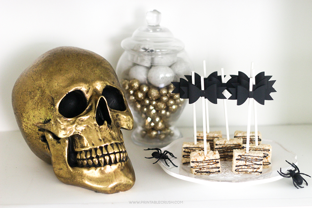 Black and Gold Halloween Party Ideas