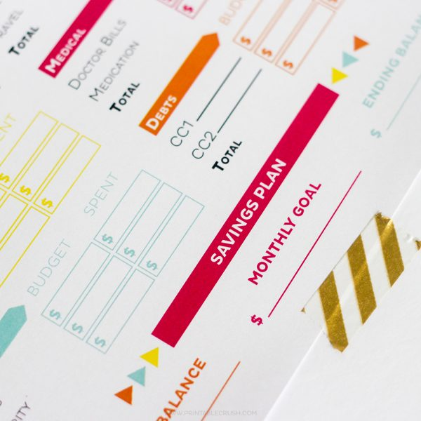 Get your finances in order with these Editable Printable Budget Sheets! Includes monthly budget and expense sheets so you can easily keep track of your money!