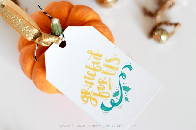 Download these Printable Thanksgiving Gift Tags for FREE