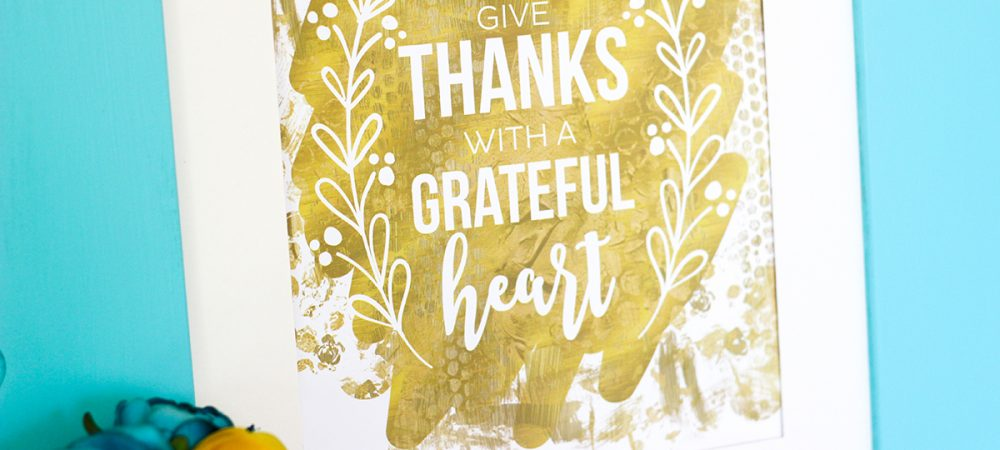 FREE Thanksgiving Printable Word Art
