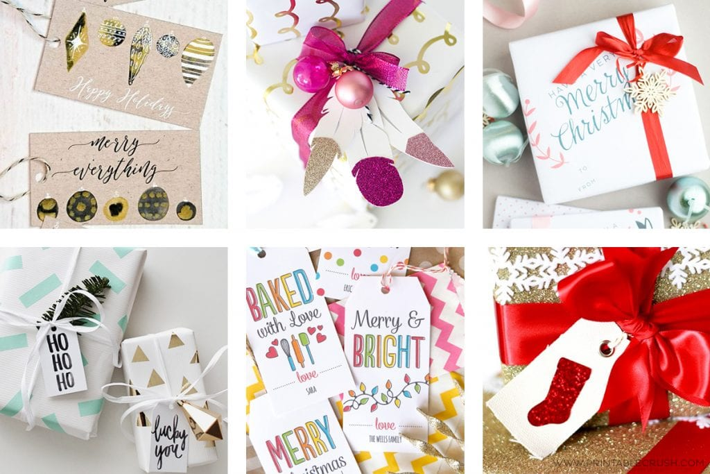 23 Unique Christmas Gift Tags and Wrapping Ideas!