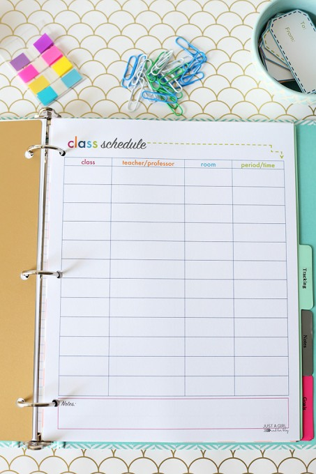 23 Of The Best Organization Printables Printable Crush