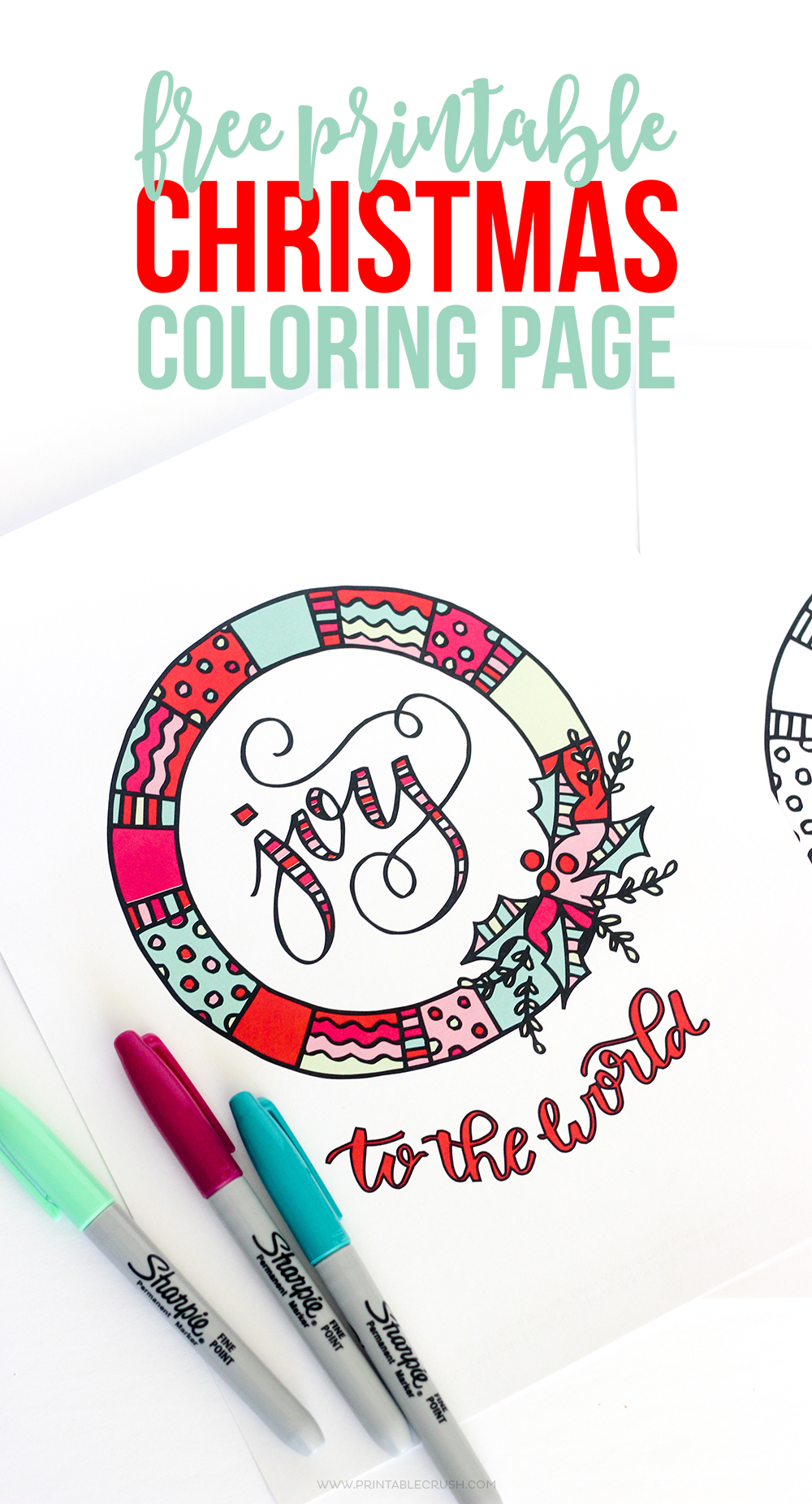 Printable coloring pages christmas - Print Off Some Of These Free Printable Christmas Coloring Page For A Fun Activity For Kids