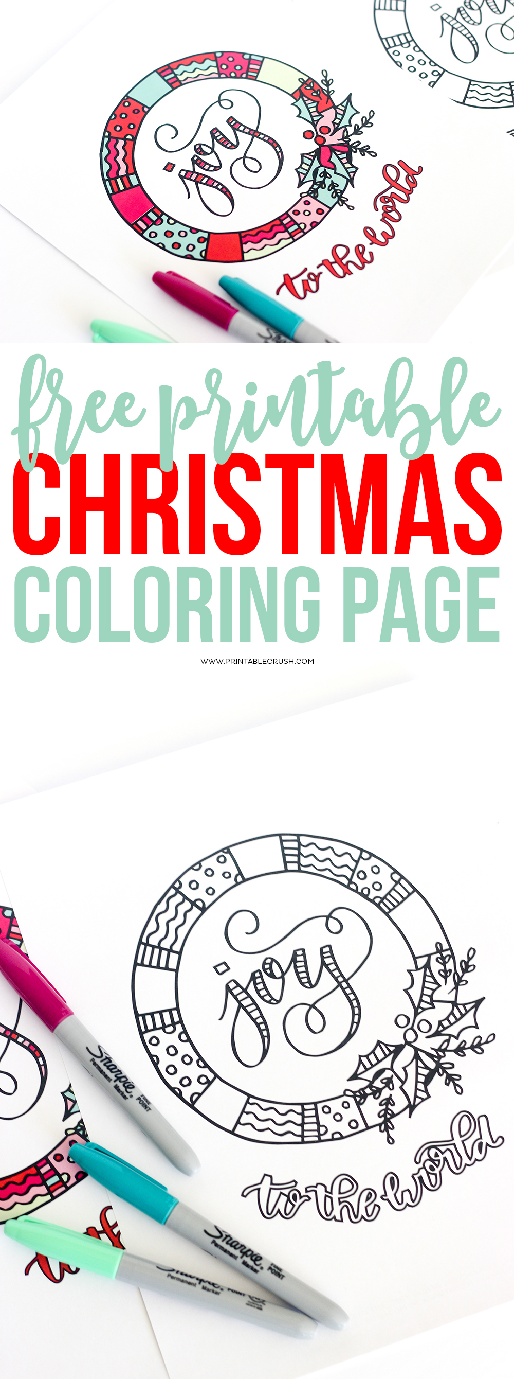 print off some of these free printable christmas coloring page for a fun activity for kids