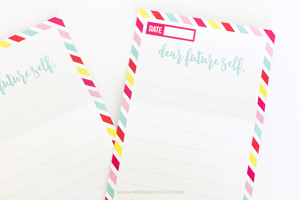 printable new year s resolution letter and envelopes printable crush