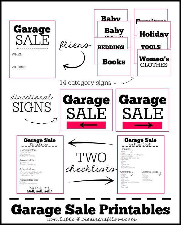 23 Organization Printables on Printable Crush