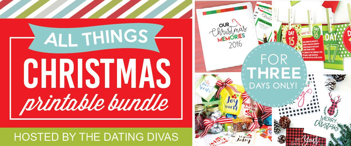 All Things Christmas Blogger Bundle Sale